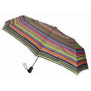 Totes Umbrella Stripes Auto Open 42″ Rain Sun
